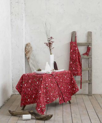 Χριστουγεννιάτικο Σετ Σουπλά (2 τμχ.) BE MERRY της NIMA HOME (35x50)