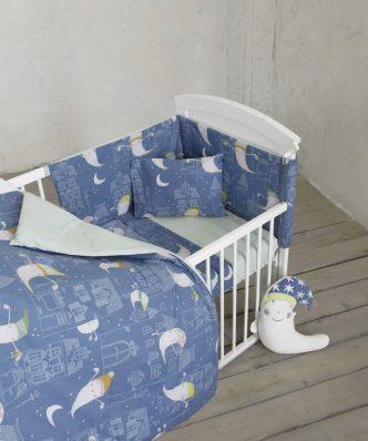 Βρεφικό Πάπλωμα Κούνιας (bebe) BOO της NIMA HOME (100x140)