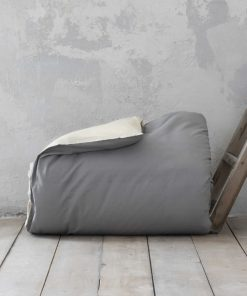 Παπλωματοθήκη King Size (Γίγας) COLORS της NIMA HOME (240x260) EARTH BEIGE / SHADOW GRAY