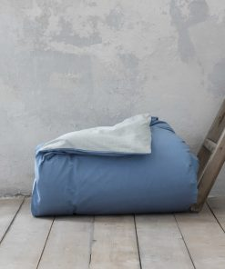 Παπλωματοθήκη King Size (Γίγας) COLORS της NIMA HOME (240x260) SMOKE MINT / SHADOW BLUE
