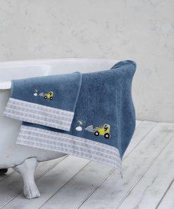 Παιδική Πετσέτα Μπάνιου CRAFTBOY της NIMA HOME (70x140)