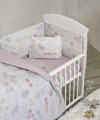 Βρεφικό Πάπλωμα Κούνιας (bebe) CUCKOO της NIMA HOME (100x140)