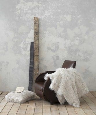 Γούνινη Κουβέρτα Καναπέ FLUFFY της NIMA HOME (130x170) TAUPE