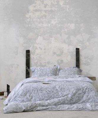 Σετ Βαμβακοσατέν Παπλωματοθήκη Μονή GIACOMO της NIMA HOME (160x240) GRAY
