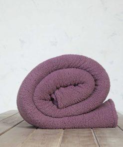 Fleece Κουβέρτα Υπέρδιπλη MANTA της NIMA HOME (220x240) CASSIS