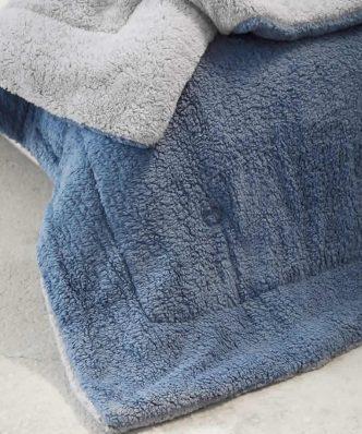 Κουβερτοπάπλωμα King Size (Γίγας) MELT της NIMA HOME (240x260) MINT / BLUE