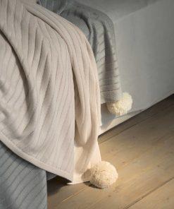 Κουβέρτα Μονή SNUG της NIMA NOME (150x220) BEIGE