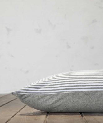 Σετ Σεντόνια Διπλά SUAVE της NIMA HOME (200x260) GRAY (με Λάστιχο 120x200+30)
