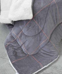Κουβερτοπάπλωμα King Size (Γίγας) TAILOR της NIMA HOME (240x260) GRAY