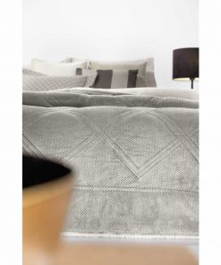 Κουβερτοπάπλωμα με γουνάκι Υπέρδιπλο BELLISIMO της Guy Laroche (220x240) MINK