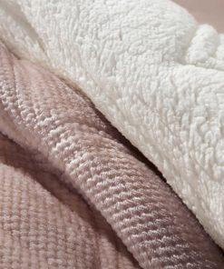 Κουβερτοπάπλωμα με γουνάκι Υπέρδιπλο BELLISIMO της Guy Laroche (220x240) PUDRA