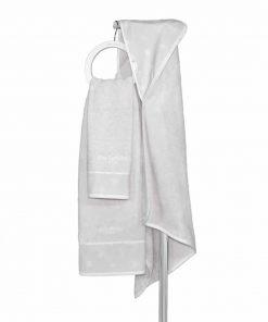 Σετ (2τμχ) Βρεφικές (bebe) Πετσέτες HEAVEN της Guy Laroche SILVER