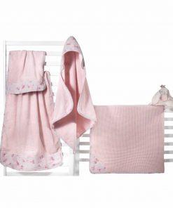 Σετ (2τμχ) Βρεφικές (bebe) Πετσέτες FAIRY της Guy Laroche