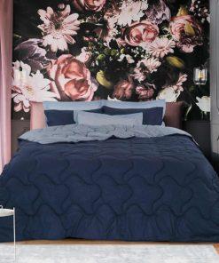 Σετ Υπέρδιπλα Σεντόνια με Πάπλωμα (5τμχ) WINTER PACK Best Collection 4689 της Das Home (220x240) ΜΠΛΕ