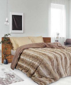 Γούνινο Κουβερτοπάπλωμα Υπέρδιπλο Blankets Line 1133 της Das Home (220x240) ΜΠΕΖ