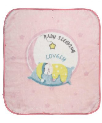 Βελουτέ Βρεφική Κουβέρτα Αγκαλιάς - Υπνόσακος (bebe) Baby Relax Line 6565 της Das Home (80x90) ΡΟΖ