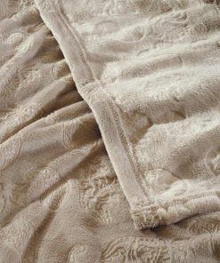 Fleece Κουβέρτα Υπέρδιπλη Blankets Line 428 της Das Home (220x240) ΣΠΑΓΓΙ