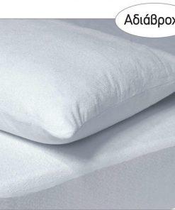 Ζευγάρι Αδιάβροχες Μαξιλαροθήκες Comfort Line 1089 της Das Home (50x70) ΛΕΥΚΟ