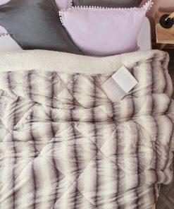 Γούνινο Κουβερτοπάπλωμα Υπέρδιπλο REX της Palamaiki (220x240)