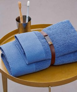 Σετ Πετσέτες Μπάνιου (2 τμχ.) Towels Collection CHATEAU της Palamaiki -BLUE