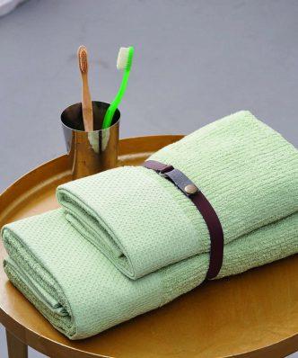 Πετσέτα Μπάνιου Towels Collection CHATEAU της Palamaiki (70x140) GREEN