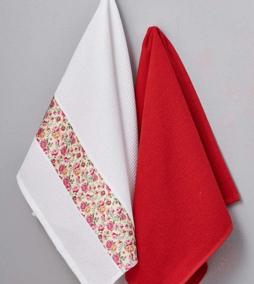 Ζευγάρι Πετσέτες Κουζίνας Kitchen Towels MAGENTO της Palamaiki (50x70)
