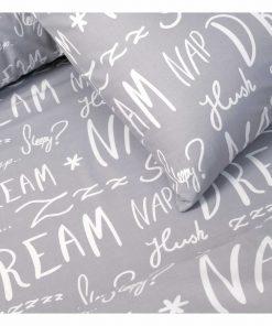 Παπλωματοθήκη Διπλή (200x240) Ultra Line DREAMER GREY της MELINEN