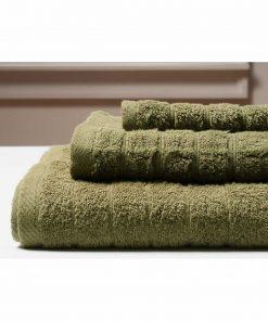 Πετσέτα Μπάνιου COLOURS της MELINEN (80x150) OLIVE