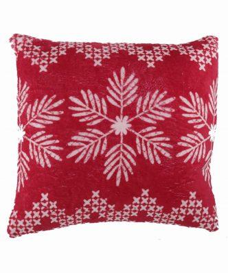 Χριστουγεννιάτικο Διακοσμητικό Μαξιλαράκι GREETINGS της NEF-NEF (45x45)