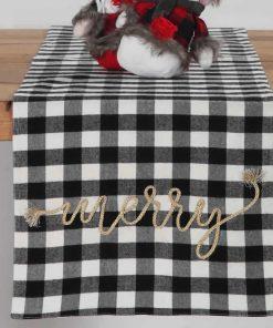 Χριστουγεννιάτικη Τραβέρσα MERRY της NEF-NEF (33x150)
