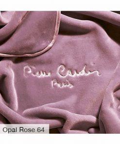 King Size (Γίγας) Βελουτέ Κουβέρτα Ισπανίας NANCY 545/64 της PIERRE CARDIN - OPAL ROSE