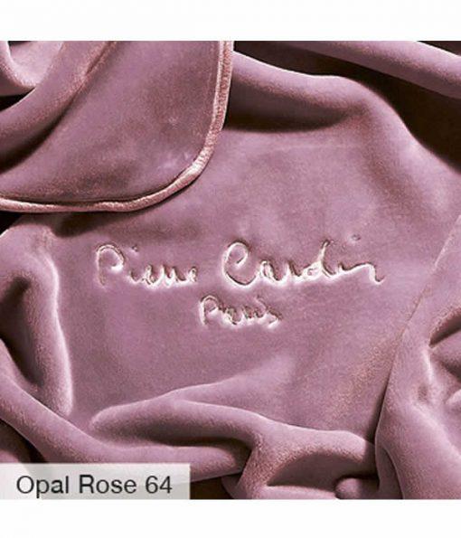 Υπέρδιπλη Βελουτέ Κουβέρτα Ισπανίας NANCY 545/64 της PIERRE CARDIN - OPAL ROSE