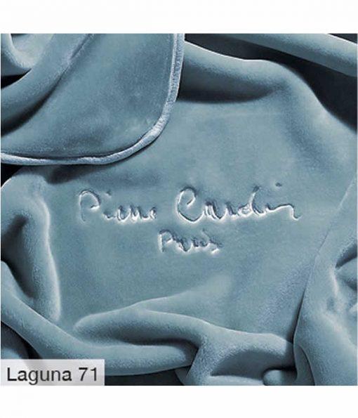 Υπέρδιπλη Βελουτέ Κουβέρτα Ισπανίας NANCY 545/71 της PIERRE CARDIN - LAGUNA