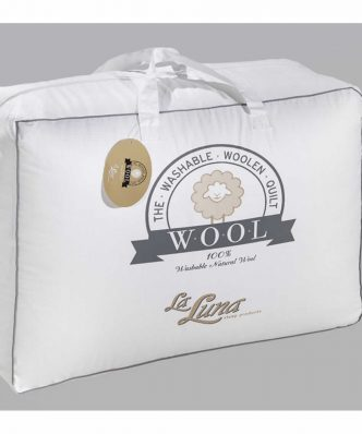 Μάλλινο Μονό Πάπλωμα The Wool Natural Duvet (160x220) της La Luna