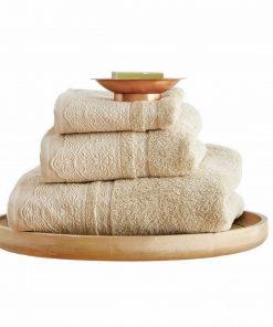 Σετ (3τμχ) Πετσέτες Μπάνιου FELIX της Sb Home BEIGE
