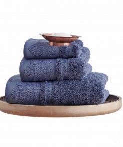 Σετ (3τμχ) Πετσέτες Μπάνιου FELIX της Sb Home BLUE