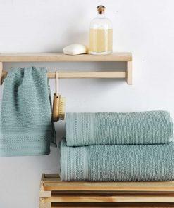 Σετ (3τμχ) Πετσέτες Μπάνιου ΜΑΤΤΕΟ της Sb Home BLUE