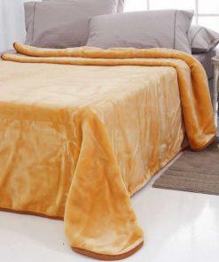 Κουβέρτα Βελουτέ Μονή TYROL της Sb Home (160x240) SALMON