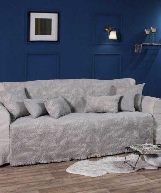 Ριχτάρι 3θέσιου καναπέ (180x300) ILLINOIS 11 της TEORAN -  ΓΚΡΙ