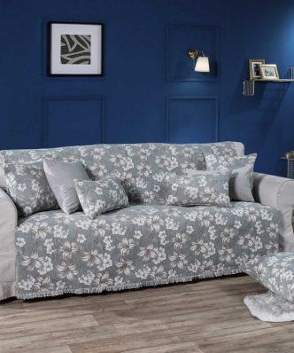 Ριχτάρι 3θέσιου καναπέ (180x300) LOUISIANA 04 της TEORAN - ΜΠΛΕ