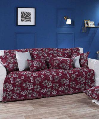Ριχτάρι 2θέσιου καναπέ (180x250) LOUISIANA 10 της TEORAN - ΜΠΟΡΝΤΟ