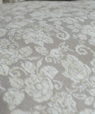 Διακοσμητική Μαξιλαροθήκη Φιγούρας Δαπέδου (65x65) TENNESSEE 01 της TEORAN - ΕΚΡΟΥ