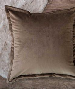 Βελούδινη Διακοσμητική Μαξιλαροθήκη Δαπέδου (65x65) VELVET 02 της TEORAN