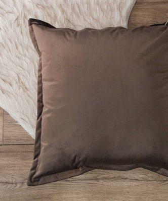 Βελούδινη Διακοσμητική Μαξιλάρα Δαπέδου (65x65) VELVET 03 της TEORAN