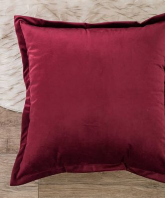 Βελούδινη Διακοσμητική Μαξιλαροθήκη Δαπέδου (65x65) VELVET 10 της TEORAN