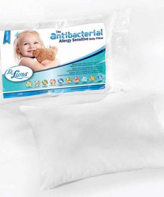 Βρεφικό Αντιαλλεργικό Μαξιλάρι Ύπνου BABY ANTIBACTERIAL ALLERGY FREE (30x40) της La Luna