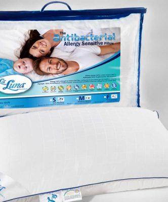 Αντιαλλεργικό Μαξιλάρι Ύπνου ANTIBACTERIAL MEDIUM (50x70) της La Luna