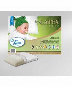 Βρεφικό Μαξιλάρι Ύπνου The baby LATEX Pillow (30x40x6,5) της La Luna