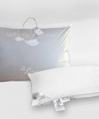 Πουπουλένιο Μαξιλάρι Ύπνου WHITE GOOSE DOWN PILLOW 80/20 (50x70) της La Luna