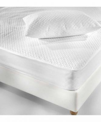 Ζευγάρι Καπιτονέ Προστατευτικό κάλυμμα μαξιλαριού (50x80) Elegance της La Luna
